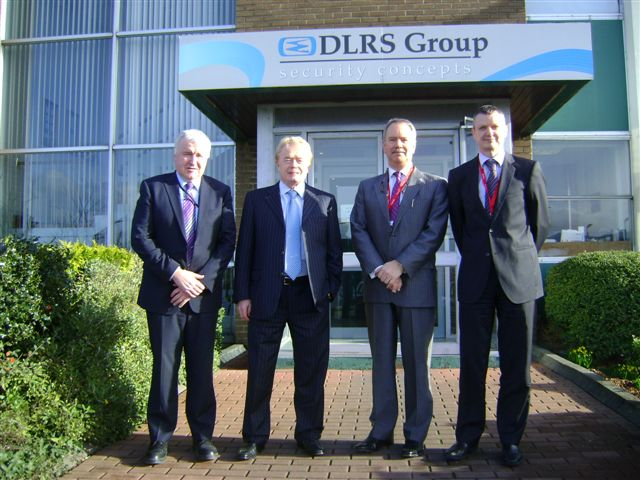 Mr Tom O'Mahony DLRS, Managing Director, Mr Liam O'Mahony ,Smurfit Kappa Plc. Chairman Mr Tom Mooney Chief Executive, Smurfit Kappa Ireland and Mr Ray Murphy ,Smurfit Kappa group.